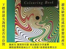 二手書博民逛書店The罕見Optical Illusions colouring
