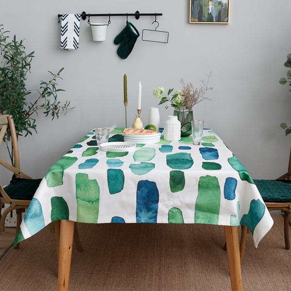 時尚可愛空間餐桌布 茶几布 隔熱墊 鍋墊 杯墊 餐桌巾805 (客製款140*180cm)
