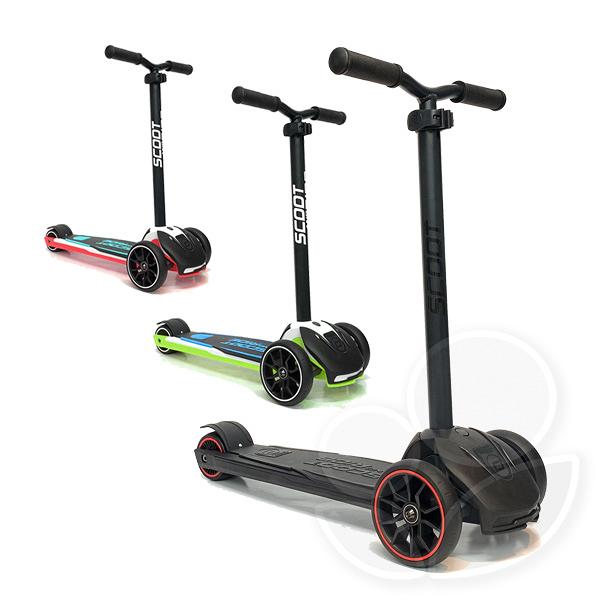 奧地利 Scoot&Ride Kick5 滑板車-黑/藍/紅【佳兒園婦幼館】