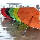 雨傘創意反向雙層長柄女免持式汽車晴雨兩用反骨傘WY