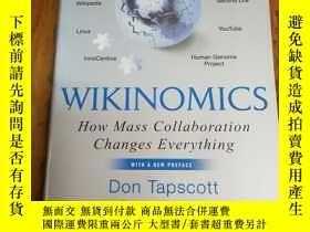 二手書博民逛書店Wikinomics:罕見How Mass Collaborat