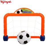 Toyroyal日本皇室玩具親子兒童健身保齡球高爾夫球桿套裝歡樂足球  創想數位DF