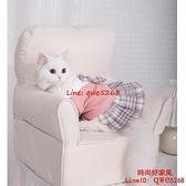 貓咪衣服防掉毛幼貓秋季薄款藍貓布偶貓小貓寵物夏季可愛貓貓裙子【時尚好家風】