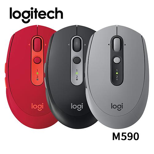 Logitech 羅技 M590 多工無線靜音滑鼠