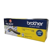 Brother TN-263 Y 原廠標準容量黃色碳粉匣 TN263 適用MFC-L3750