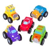 【美國Elegant Baby】洗澡玩具5入組- 怪獸卡車 40568