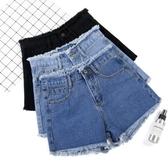 牛仔短褲牛仔短褲女2020夏季新款韓版寬鬆闊腿外穿顯瘦高腰薄款a字熱褲潮伊蘿 雙11 伊蘿