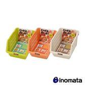 INOMATA 日本製造野菜收納籃(橘色/綠色/白色 顏色隨機)IN-126