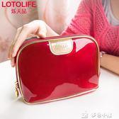 女士化妝包小號大容量便攜韓國簡約防水化妝品收納包迷你可愛旅行 多色小屋