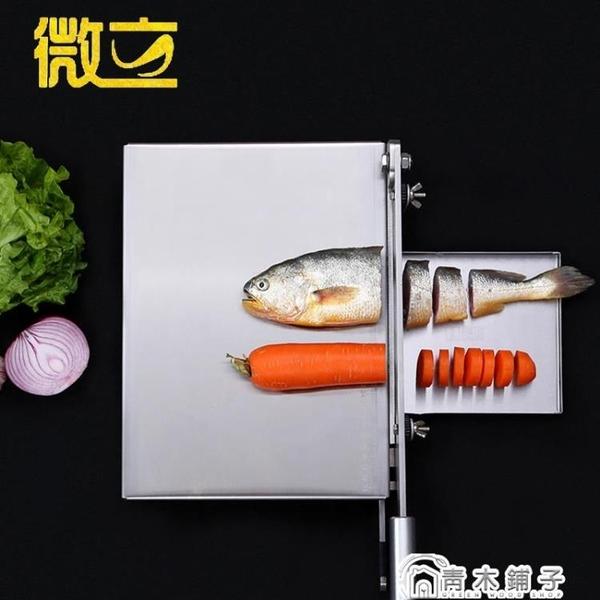 微立排骨切片機切雞鴨魚阿膠糕切牛軋糖切年糕刀糕點蔬菜水果鍘刀 ATF青木鋪子