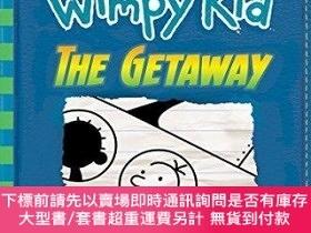 二手書博民逛書店The罕見GetawayY454646 Jeff Kinney 作者 Amulet Books ISBN:9