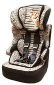 [ 家事達 ] 法國納尼亞NANIA- 納尼亞0-4歲安全汽座-花豹灰   特價 適用約3-12歲之孩童