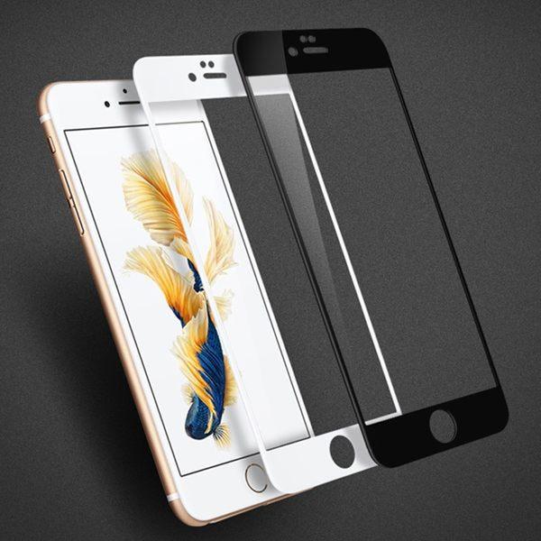 蘋果 iPhone 6 / 6S 4.7吋滿版全屏鋼化膜 Apple 6 / 6S 9H 0.3mm弧邊防爆裂防汙滿屏高清鋼化膜 保護貼