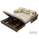 雙人沙發床 多功能布藝可褶疊實木沙發床網紅款客廳小戶型兩用雙人單人北歐T