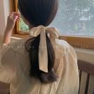 綁發法式超仙女森系蝴蝶結飄帶發飾頭飾發夾發繩發圈 朵拉朵衣櫥 朵拉朵衣櫥