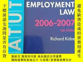 二手書博民逛書店Blackstone s罕見Statutes on Criminal Law 2006-2007 (英語) 平裝奇