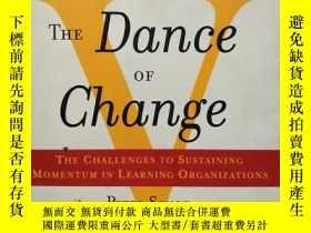 二手書博民逛書店The罕見Dance of Change: The challenges to sustaining moment