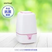 【InfoThink】iUVC-99 UVC LED 光觸媒隨身殺菌機(出外旅遊守護神器)