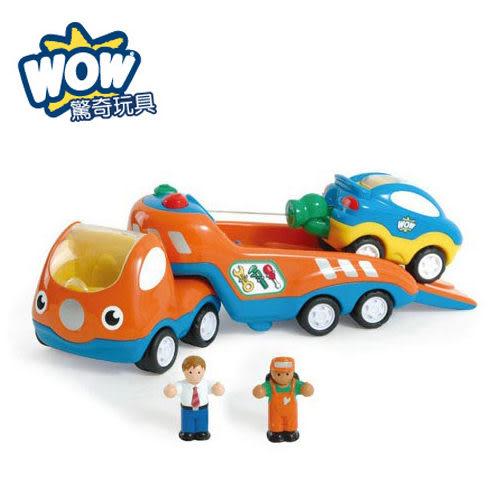 《 英國 WOW toys 》道路救援拖吊車 提姆 ╭★ JOYBUS玩具百貨