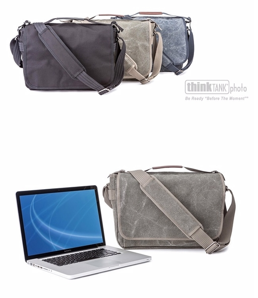 【聖影數位】Think Tank Retrospective Laptop Cases 復古側背包 RS722灰 RS723藍 RS724黑