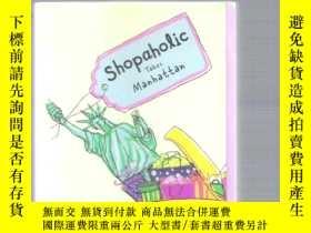 二手書博民逛書店英語小說罕見Shopaholic Takes Manhantta