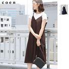 連身洋裝 細肩帶洋裝 日本品牌【coen】