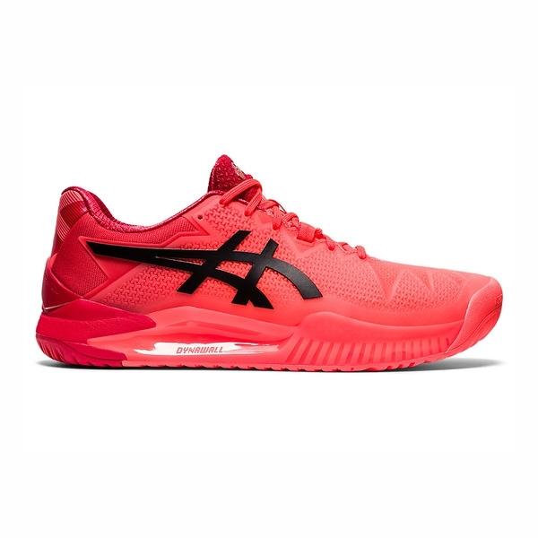Asics Gel-resolution 8 [1041A185-701] 男鞋 網球 緩衝 舒適 東京 限定 日出紅