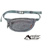 【PolarStar】個性側腰包『灰色』P20807 露營.戶外.旅遊.自助旅行.多隔間.腰包.休閒包.側背包