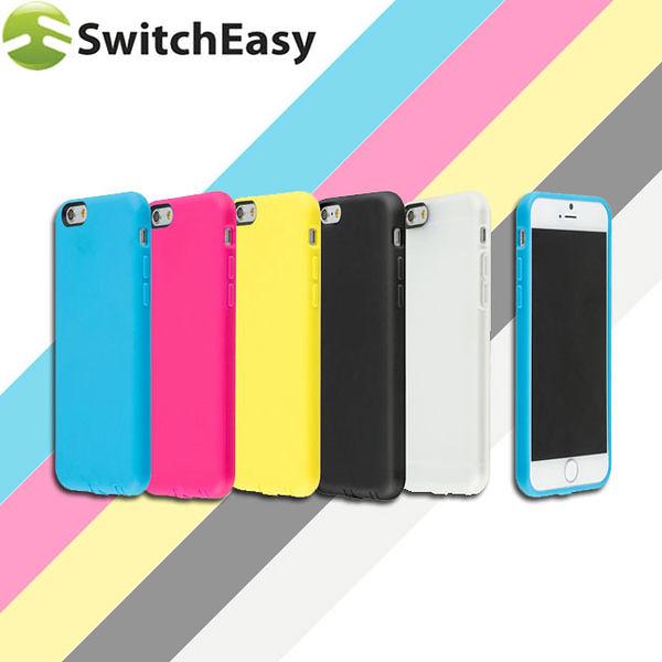 """【東西商店】SwitchEasy NUMBERS iPhone 6 / (4.7"""") TPU多彩特色保護套"""