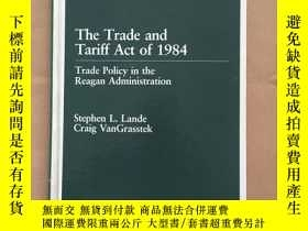 二手書博民逛書店The罕見Trade and Tariff Act of 198
