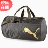 【現貨在庫】PUMA ESSENTIAL BARREL 背包 旅行袋 手提袋 休閒 健身 黑【運動世界】07662620