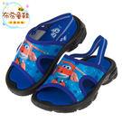 《布布童鞋》SuperWings超級飛俠杰特藍色附後綁帶兒童拖鞋(14~15公分) [ M7M701B ] 藍色款