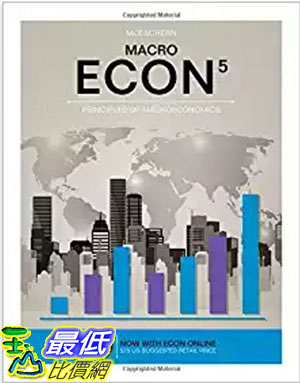 [106美國直購] 2017美國暢銷軟體 ECON MACRO (with ECON MACRO Online, 1 term (6 months) Printed Access Card)