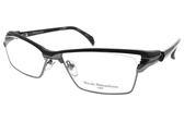 Masaki Matsushima 光學眼鏡 MMF1227 C04 (霧黑-槍) 潮感全框系列 β鈦眼鏡 #金橘眼鏡