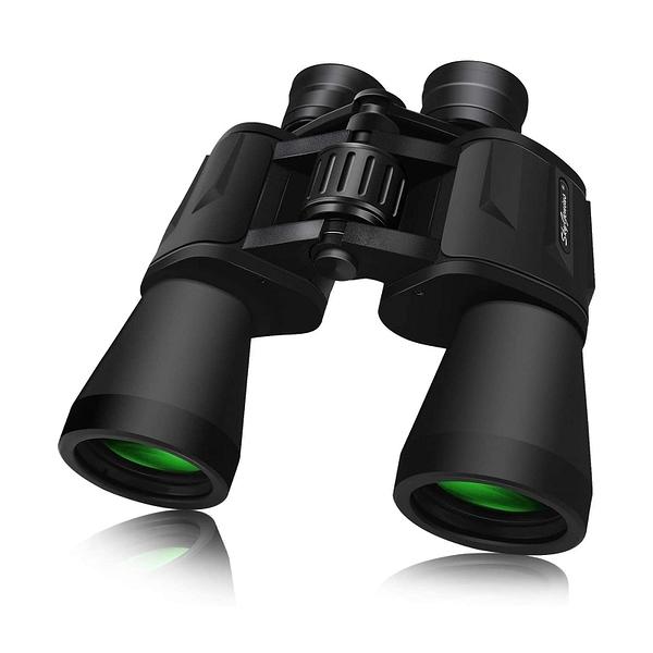 SkyGenius 10 x 50雙筒望遠鏡 SKGST10X50 Durable Full-Size Clear Binoculars [2美國直購]