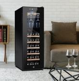 電子恒溫保濕紅酒櫃家用冰吧30支裝掛杯茶葉冷藏風冷雪茄櫃LX220V新品上新