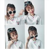 現貨-韓國ulzzang原宿復古墨鏡新款太陽鏡品牌復古歐美潮流男女款大框墨鏡白色墨鏡彩膜 107