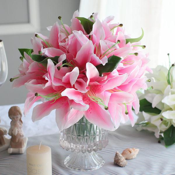 模擬花套裝花藝 客廳玄關假花幹花裝飾品商業插花- sisi009