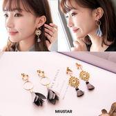 ★夏裝限定★MIUSTAR 低調灰色系造型耳環(共2色)【NF0658T1】預購