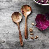 雙十二狂歡購泰國柚木長柄攪拌勺子 天然無漆沙拉勺飯匙