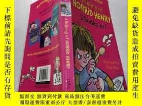 二手書博民逛書店a罕見helping of horrid henry:一幫可怕的亨利Y212829