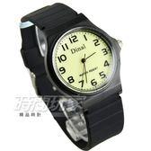 Dinal 時尚數字 簡單腕錶 防水手錶 數字錶 男錶 女錶 學生錶 兒童手錶 中性錶 黑 D1307螢