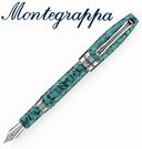 義大利Montegrappa萬特佳 財富馬賽克系列 - 鋼筆 (松石綠) ISFOB_IA / 支