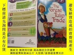 二手書博民逛書店The罕見Great Tulip Trade (Step into Reading, Level 3) [ 郁金香