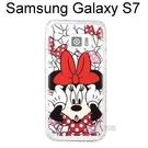 迪士尼空壓透明軟殼 [主題] 米妮 三星 G930FD Galaxy S7【Disney正版授權】
