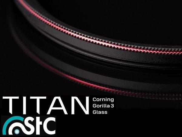 又敗家@台灣品牌STC多層膜薄框58mm濾鏡抗靜電輕薄強韌特級強化Titan保護鏡Corning大猩猩Gorilla