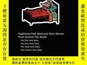 二手書博民逛書店Andrew罕見Lang s Pink, Grey, Violet And Crimson Fairy Books
