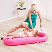 大號洗頭椅洗?神器可折疊寶寶洗頭床洗?躺椅兒童洗頭躺椅XW
