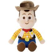 【麗嬰國際】迪士尼 皮克斯 玩具總動員 豆豆絨毛 胡迪_TA23573 巴斯光年 三眼怪 保證正版