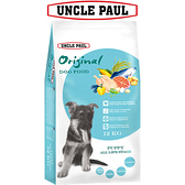 【UNCLE PAUL】保羅叔叔田園生機狗食 12kg(幼犬 全齡用)